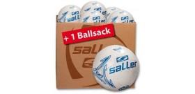 Piłki Saller - Pakiet 10 Piłek + worek